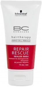 Schwarzkopf Bonacure Repair Rescue Sealed Ends 75ML